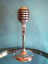 1000 images about early 20th century sound tech vintage 1950 s electro voice 950 crystal microphone old deco midcentury 1