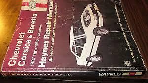 chilton repair manual 88 92 chevrolet corsica beretta w wiring haynes repair manual 1987 1996 chevrolet corsica beretta complete shipping