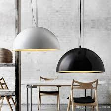 dia 40cm 60cm 90cm new modern pendant light black white gold brown sky garden pendant lamp for dinning room e27 led light c028 glass hanging lights hanging