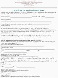 Hipaa Request Form Hipaa Consent Form Photo Fresh 20 Medical Release Forms Template