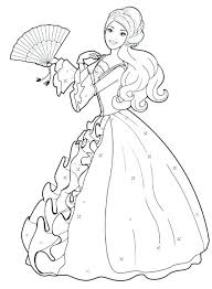 Barbie Fashion Clothes Coloring Pages Page Free Mosshippohaven