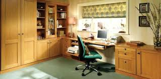 diy fitted home office furniture. Wonderful Fitted Home Office Furniture In Mountain Oak Style Diy A