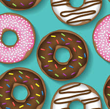 Donut Pattern Magnificent Decorating