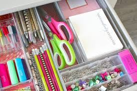 office drawer organizers. Quick Tricks For Organizing Desk Drawers. Remodelaholic Office Drawer Organizers .