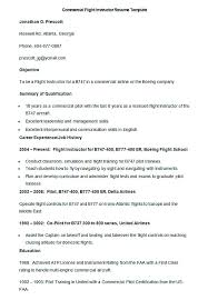 Sample Airline Pilot Resume Pilot Resume Template Sample Pilot Resume With Regard To Commercial 63