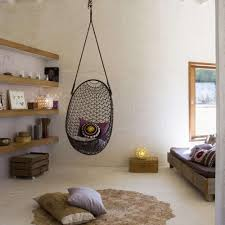 blue hanging chairs for bedrooms. Gallery Of Deluxe Striped Blue White Fabric Hanging Chair For Bedroom Inspiration With Textured Wood Floor And Painted Wall Your Won\u0027t Be The Chairs Bedrooms O