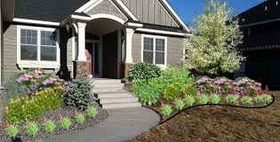 Garden Design with Minneapolis Curb Appeal and Front Yard Landscaping KG  Landscape with Backyard Designs from
