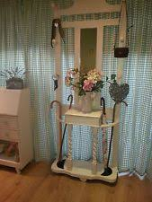 Shabby chic victorian hallstand / coat stand laura ashley paint