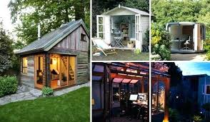 home office sheds. Backyard Shed Office You Would Love To Go Work Garden . Prefabricated Home Sheds