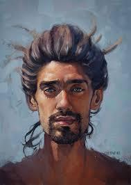 Digital Portrait Painting 50 Breathtaking Digital Painting Portraits Male Portrait