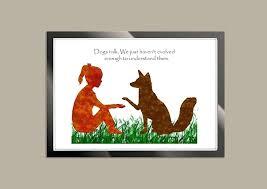 dog wall decor dog e print dog art print dog wall art dog lover gift girl