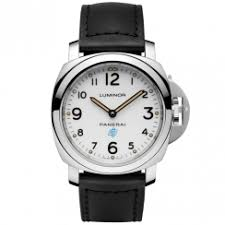 officine panerai watches at berry s jewellers luminor base logo acciaio 44mm white dial men s watch