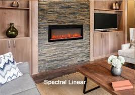 linear electric fireplace. Spectral Linear Electric Fireplace C