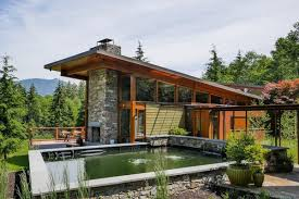 northwest modern home architecture. Delighful Architecture Prentiss Architects Were Tasked With Creating A Home Out In North Bend  2005 The Owners Wanted Place That  Inside Northwest Modern Home Architecture E
