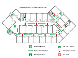 Evacuation Plan Sample Kindergarten Fire Evacuation Plan Free Kindergarten Fire