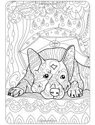Small Picture Dog Coloring Pages For Adults Free Images Coloring Dog Coloring