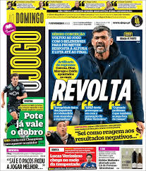 Vitória fc, jogada, cláudio pitbull aos 92'. Newspaper O Jogo Portugal Newspapers In Portugal Sunday S Edition February 7 Of 2021 Kiosko Net