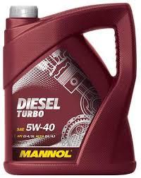 <b>Mannol Diesel Turbo 5W-40</b> API CI-4/SL Engine Oil, 1 Litre: Amazon ...