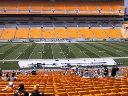 Heinz Field Taylor Swift Seating Chart Heinz Field View From Club Level 211 Vivid Seats