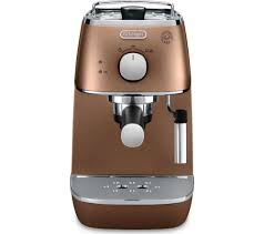 Currys Small Kitchen Appliances Buy Delonghi Distinta Eci341cp Coffee Machine Copper Free