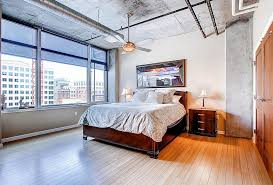 industrial look bedroom furniture.  Look View In Gallery Wood Concrete And Metal Meet This Industrial Style  Bedroom Design PorchLight Real Inside Industrial Look Bedroom Furniture
