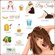 how to soothe dry scalp