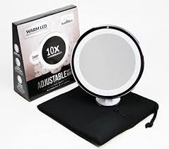 upper west collection lighted makeup mirror