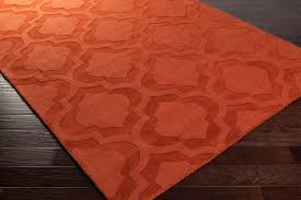 burnt orange area rugs home ideas collection easy ideas with orange area rugs decor orange area
