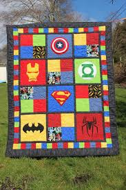Puddle Jumper Quilts 'n' things: SuperHero Baby Quilt & SuperHero Baby Quilt Adamdwight.com