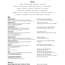 Resume For Movie Theater Job Hair Stylist Resume Templates For Film Job With Theatre And Film 15