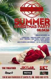 Summer Christmas Party with DJDany