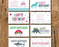 Kid Cards Kids Calling Card Etsy