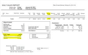 sales daily report how to reconcile transactions using your credit card log report