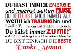 Danke Mama Sprüche Und Reime Mama Sprüche Muttertag Sprüche Und