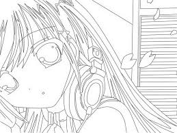 Small Picture Anime Coloring Pages FreeColoringPrintable Coloring Pages Free
