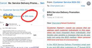 Customer Service Apology Email Ikea Spore Allegedly Leaked 195 Email Addresses Best Part