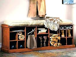 Entryway Shoe Storage Bench Coat Rack Gorgeous Entrance Shoe Storage Entrance Bench With Shoe Storage Hallway Bench