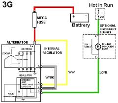one wire alternator wiring diagram chevy avivlocks com