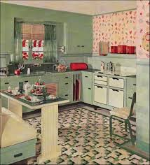 Kitchen Appliances Retro Small Kitchen Design With Built In