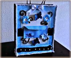 Kriya Tive Kaleidoscope Hand Decorated Gift Bag With A Cute
