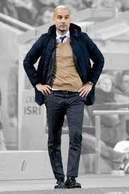 Pep Guardiola Outfit Manchester City   Blue jacket outfits men, Pep  guardiola style, Mens outfits