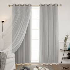 Aurora Home Mix and Match Blackout Blackout Curtains Panel Set (4-piece) -  Free Shipping Today - Overstock.com - 18722873
