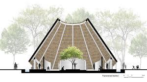 architecture design concept. HUT Design Concept By KPRA Architecture