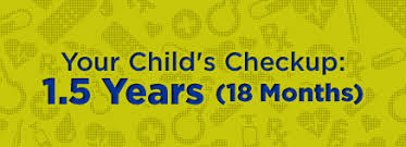 Kidshealth Your Childs Checkup 1 5 Years 18 Months
