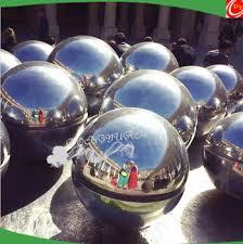 Stainless Steel Decorative Balls Gazing Stainless Steel Pond Ball Metal Steel Decorative Floating 59