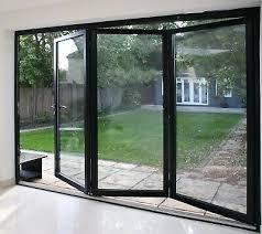 aluminum bifold multi fold patio door