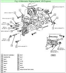 camaro the alternator and power steering pump mount graphic