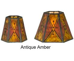 mini lamp shades clip on chandelier shade hexagon mica 00750d b p with regard to plan 5