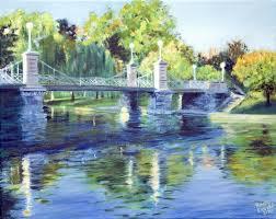 boston s public gardens bridge by becky dimattia boston s public gardens bridge by becky dimattia