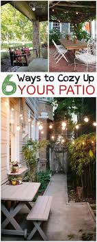 diy patio ideas pinterest. 6 Ways To Cozy Up Your Patio Diy Ideas Pinterest O